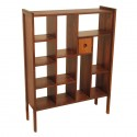 Rosewood Bookcase , 11 Ideal Bookshelves As Room Dividers In Furniture Category