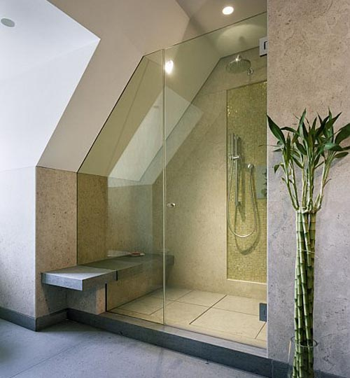 9 charming shower room designs for Tiny shower room design