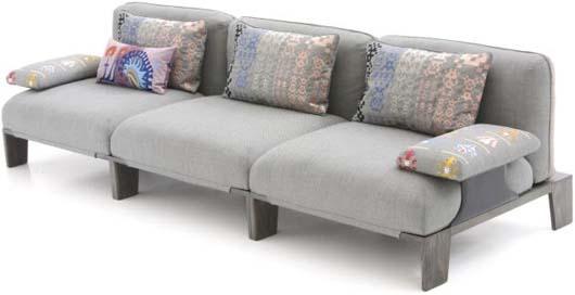 Furniture , 9 Nice Large Sofa Cushions : Sofa with Big sofa cushions