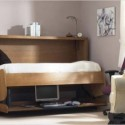 Space Saving Bed Transformable to Desk , 11 Ideal Space Saving Beds In Bedroom Category