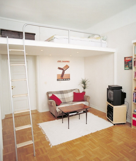 Bedroom , 9 Lovely Space Saving Beds For Small Rooms : Space Saving Beds for Small Rooms