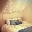 Sparkling Fairy light Ideas , 9 Outstanding Fairy Lights For Bedroom In Bedroom Category