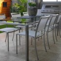 Stainless steel outdoor furniture , 8 Unique Urban Balcony Furniture In Furniture Category