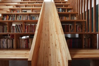 630x945px 10 Best Staircase Bookshelves Picture in Furniture