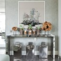 Striking hallway display , 9 Superb Hallway Table Ideas In Furniture Category