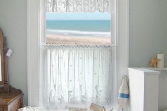 500x540px 6 Lovely Small Bathroom Window Curtains Picture in Interior Design
