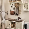 Triple Storage Bench For Hallway , 9 Hottest Storage For Hallways In Interior Design Category