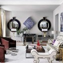 Two wall mirrors , 8 Gorgeous Decorating Mirror Frames In Furniture Category