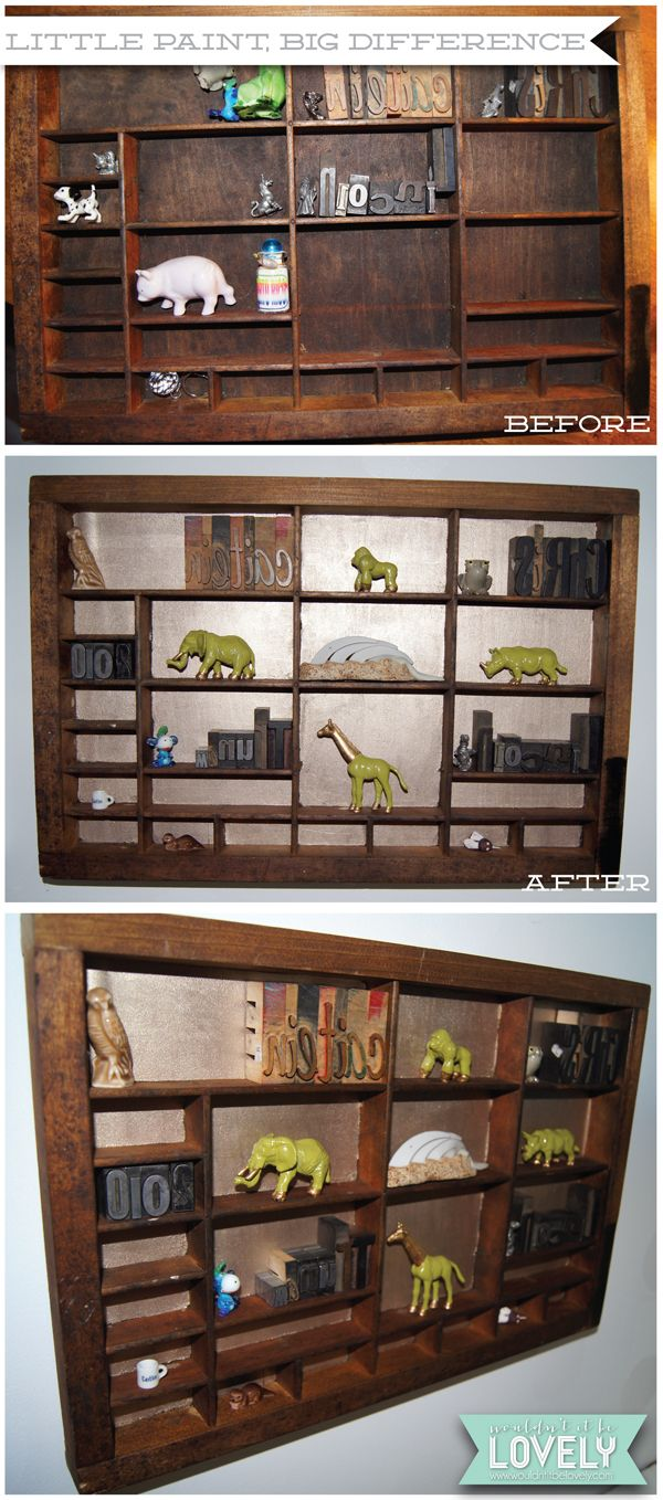 Furniture , 7 Awesome Knick Knack Display Case : Type case box