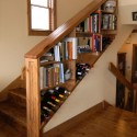 Under stairs bookshelf , 8 Stunning Staircase Bookshelf In Furniture Category