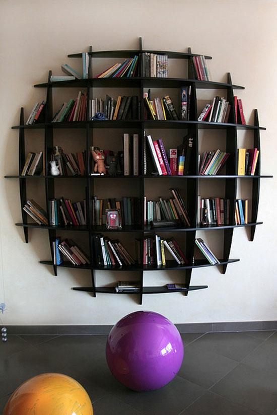 Furniture , 9 Unique Bookshelf : Unique Bookshelves photos