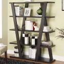 Unique Wooden Bookshelf , 9 Unique Bookshelf In Furniture Category