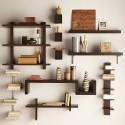 Wall Mounted Bookshelves , 6 Lovely Bookshelves Ideas In Furniture Category