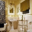 Wallpaper Bathroom , 8 Fabulous Wallpaper For Bathrooms In Bathroom Category
