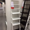 White Leaning Shelf IKEA , 8 Stunning Leaning Shelf Ikea In Furniture Category