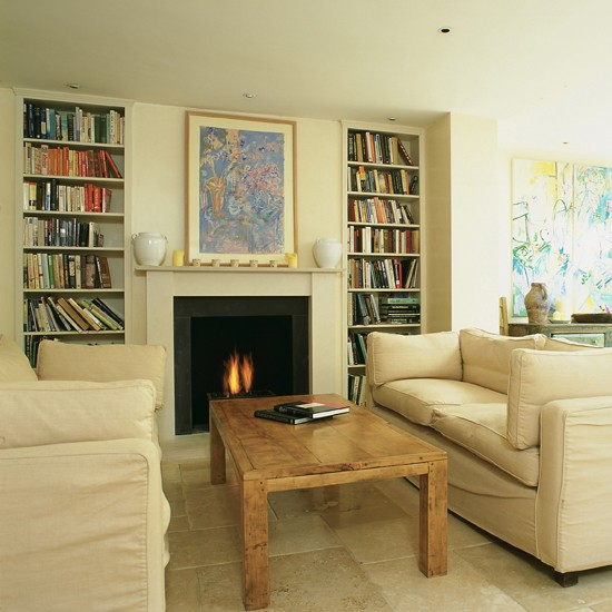 Living Room , 10 Awesome Shelving Ideas For Living Room : Alcove Shelving