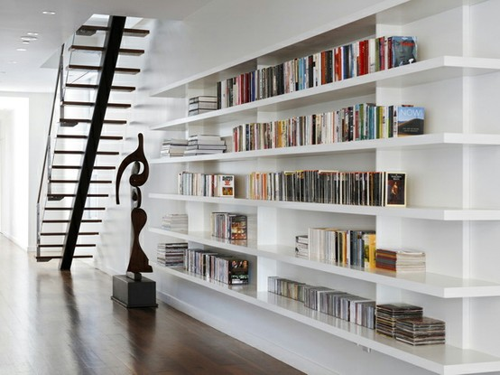 554x415px 10 Beautiful Bookcases Picture in Furniture