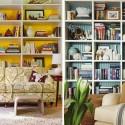bedroom lighting , 9 Fabulous Living Room Bookshelves In Furniture Category