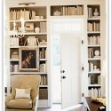 bookcase library lighting final , 9 Hottest Bookshelf Lighting In Furniture Category
