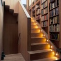 bookshelf , 8 Stunning Staircase Bookshelf In Furniture Category