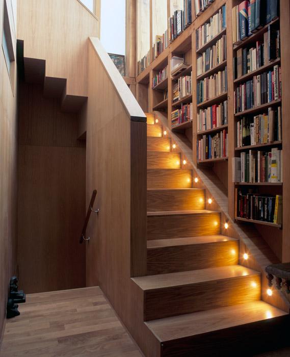 Furniture 8 Stunning Staircase Bookshelf
