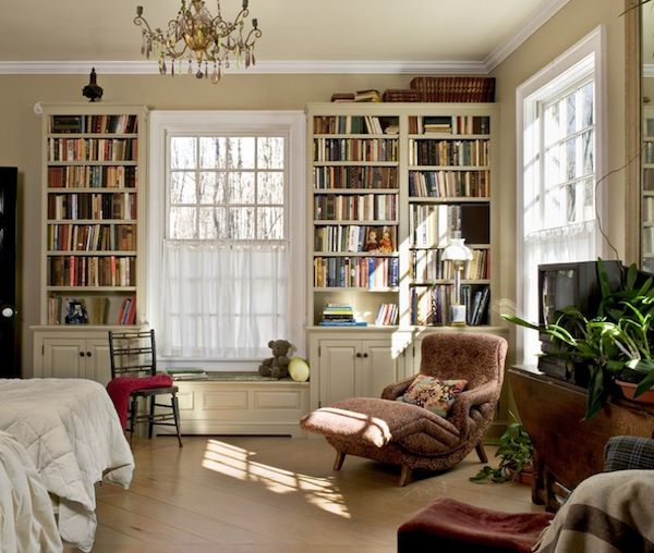Furniture , 8 Hottest Bedroom Bookshelves :  bookshelves bedroom