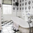 coverings for bathrooms , 8 Fabulous Wallpaper For Bathrooms In Bathroom Category
