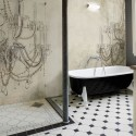 creating interest with wallpaper , 8 Fabulous Wallpaper For Bathrooms In Bathroom Category