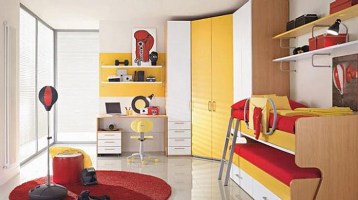 Bedroom , 9 Charming Kids Bedroom Decorating Pictures : decorative twins kids bedroom decor