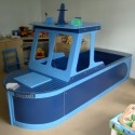 fishing boat bed , 10 Ultimate Boat Beds For Boys In Bedroom Category