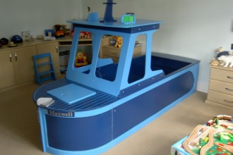 800x600px 10 Ultimate Boat Beds For Boys Picture in Bedroom
