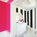 hot pink walls , 8 Fabulous Neon Paint For Walls In Living Room Category