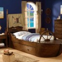 kids room design , 10 Ultimate Boat Beds For Boys In Bedroom Category