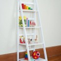 ladder shelf white , 10 Unique Ladder Shelves Ikea In Furniture Category