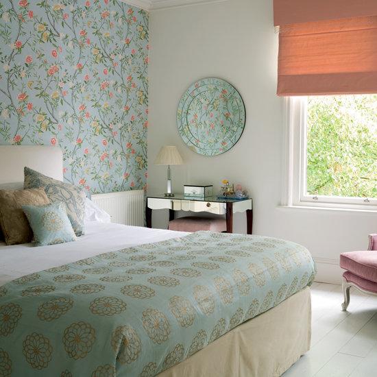 Bedroom , 9 Fabulous Wallpaper For Bedroom Walls Designs :  living room design