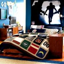 modern Boys football room decoration , 9 Popular Boys Decorating Ideas Bedroom In Interior Design Category