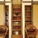 modern bookcase , 10 Best Staircase Bookshelves In Furniture Category