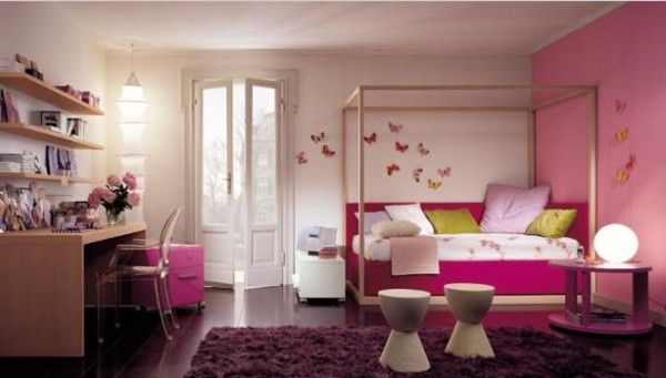 Bedroom , 10 Childrens Bedroom Ideas : pink bedroom Childrens