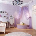 princess themed bedroom for girls , 11 Fabulous Princess Bedrooms For Girls In Bedroom Category