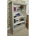 shabby chic antique , 10 Wonderful Shabby Chic Bookcases In Furniture Category