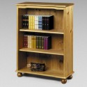 solid antique pine charming bookcase design , 12 Gorgeous Bookshelves Designs In Furniture Category