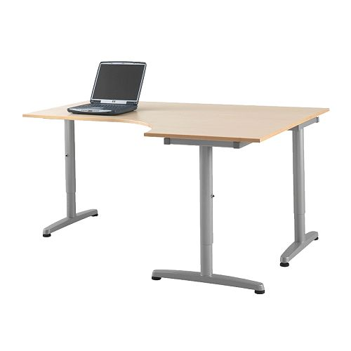 Furniture , 8 Ideal Ikea Small Desk : stationary computers