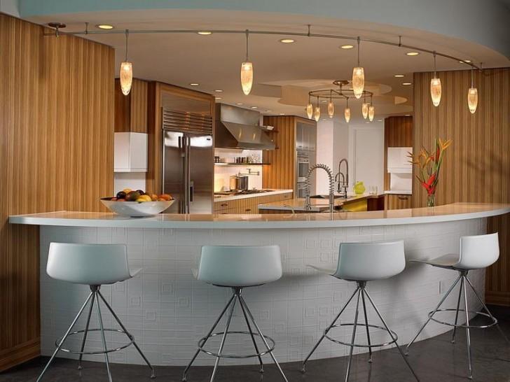 Kitchen , 8 Awesome Kitchen Breakfast Bar Design Ideas : the best kitchen island