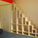 unique bookshelves , 10 Best Staircase Bookshelves In Furniture Category