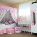 wallpaper Girls Bedroom , 11 Fabulous Princess Bedrooms For Girls In Bedroom Category