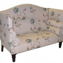 with beautiful flower , 10 Nice Girly Sofas In Furniture Category