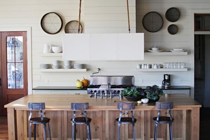 Kitchen , Beautiful  Beach Style Kitchen Islands Cabinets Image : Awesome  Beach Style Kitchen Islands Cabinets Picture