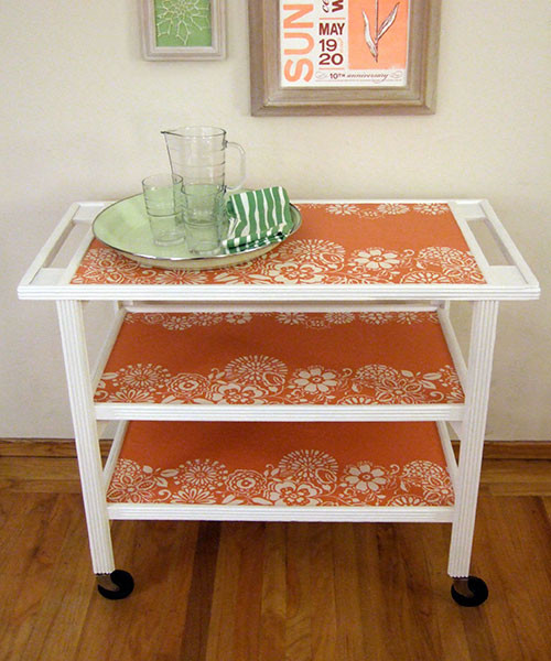 Dining Room , Beautiful  Contemporary Acrylic Bar Cart Image Inspiration : Awesome  Contemporary Acrylic Bar Cart Ideas