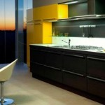 Awesome  Contemporary Black Kitchens Cabinets Photo Inspirations , Lovely  Contemporary Black Kitchens Cabinets Inspiration In Kitchen Category