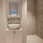 Awesome  Contemporary Decorating Ideas for Small Bathrooms in Apartments Image , Beautiful  Contemporary Decorating Ideas For Small Bathrooms In Apartments Photo Inspirations In Powder Room Category